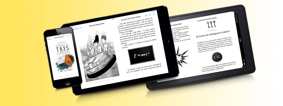 La puerta de los tres cerrojos: versión digital de la novela juvenil de Sonia Fernández-Vidal, para Editorial Océano.